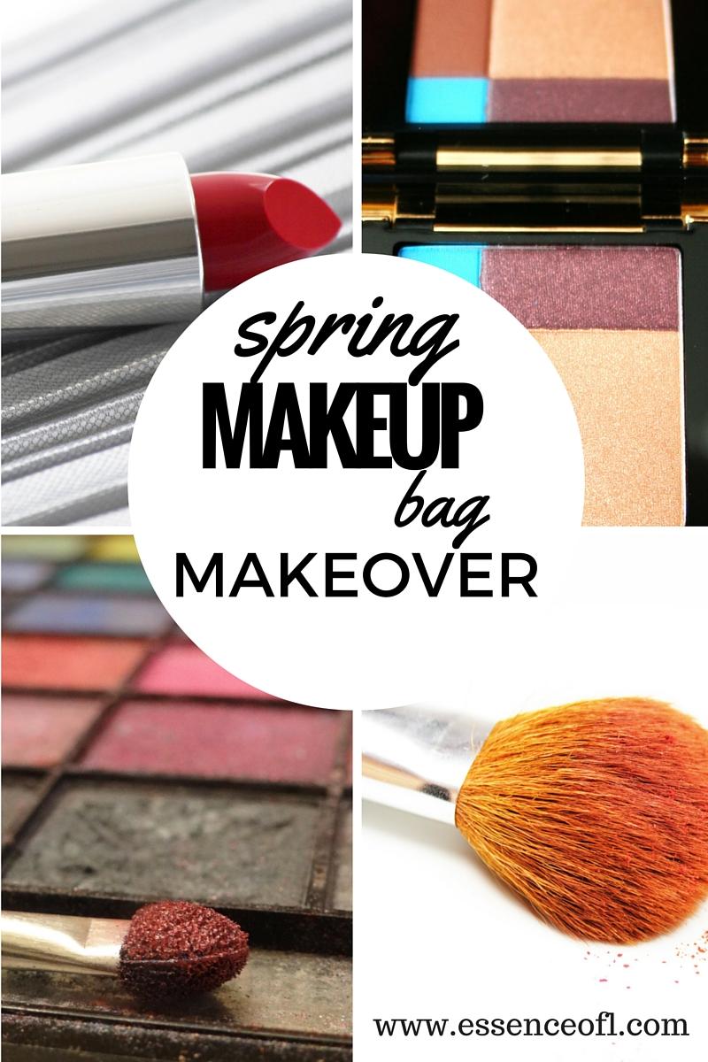 makeup bag makeover